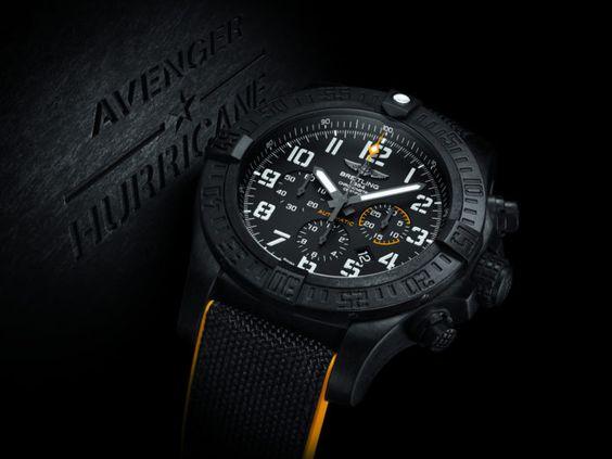 Breitling Avenger Hurricane 12H Automatic Chrono Mens Watch