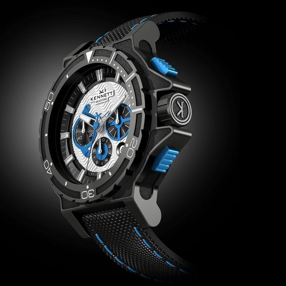 KENNETT Swiss Made Diving Chrono Mens Watch