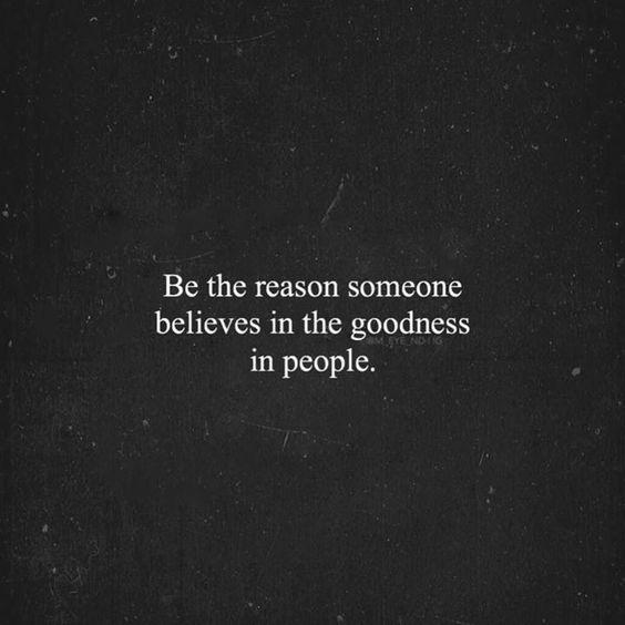be the reason