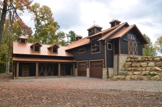 brown roof home