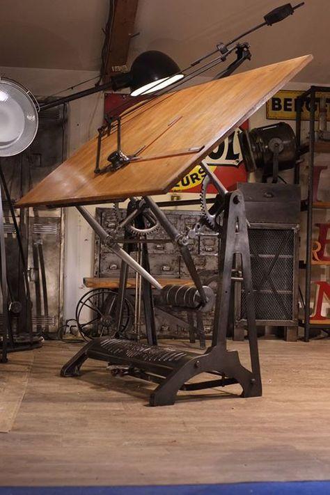 industrial drafting table