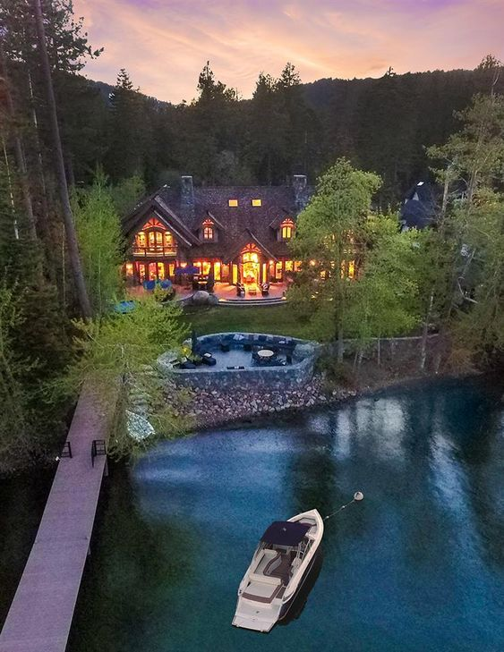 Lake Tahoe luxury home
