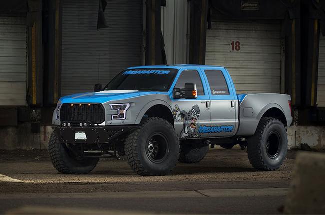 megaraptor truck