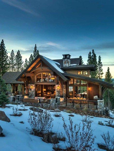 Modern Mountain Home in Truckee California