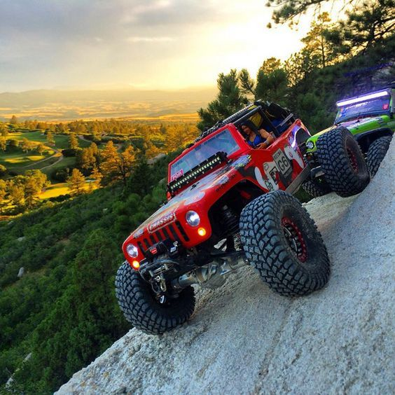 rock climber jeep