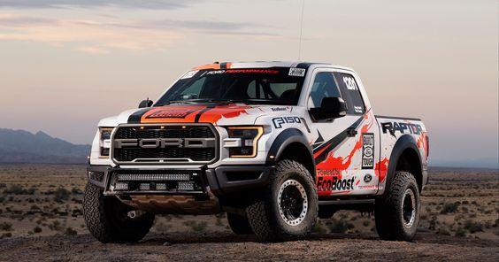 2017 Ford F-150 Raptor Baja Race Truck