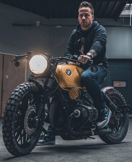 BMW cafe racer motorcycle