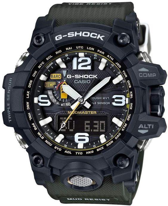 G-Shock Mudmaster Atomic Resin Mens Watch