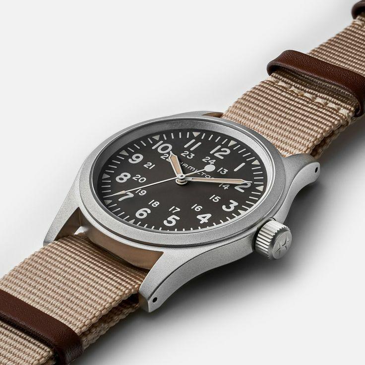 Hamilton Field Mechanical Mens Watch