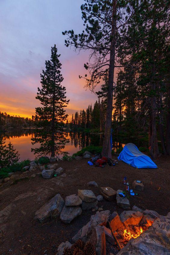 Lake Tahoe camping