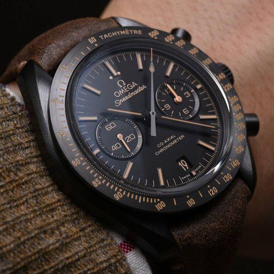 Omega Speedmaster Dark Side of the Moon Vintage Black Mens Watch