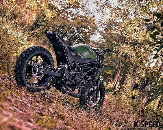 Suzuki 650 Scrambler 3