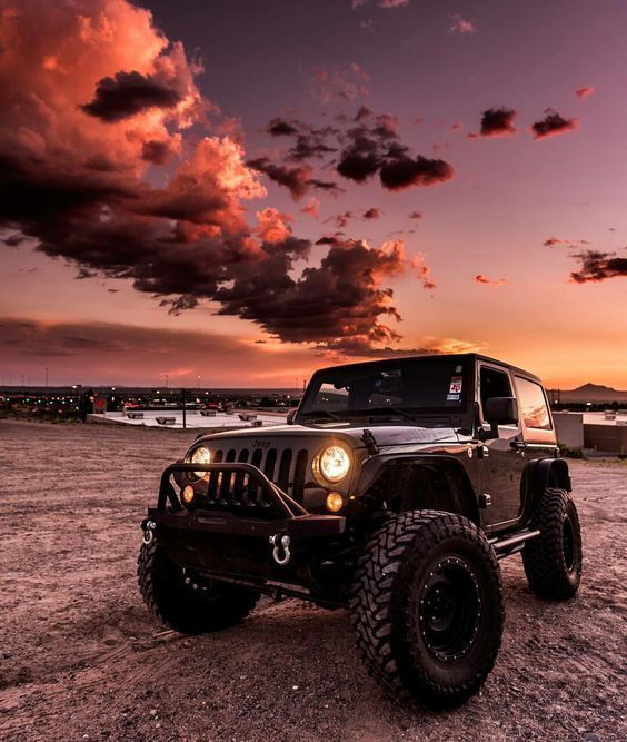 awesome photo of a jeep