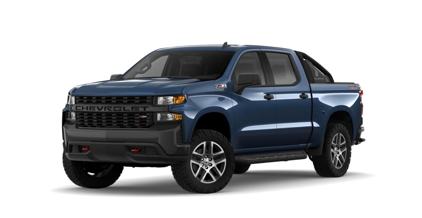 blue chevy silverado pickup truck