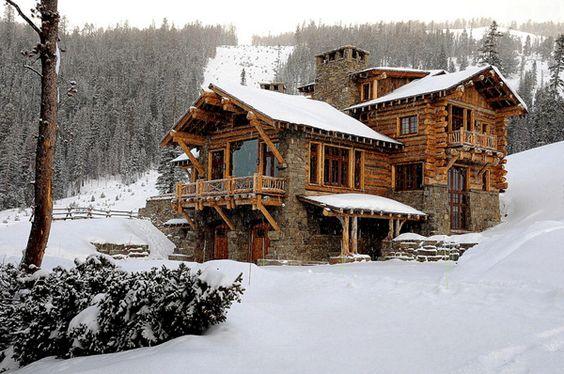 cabin style lodge