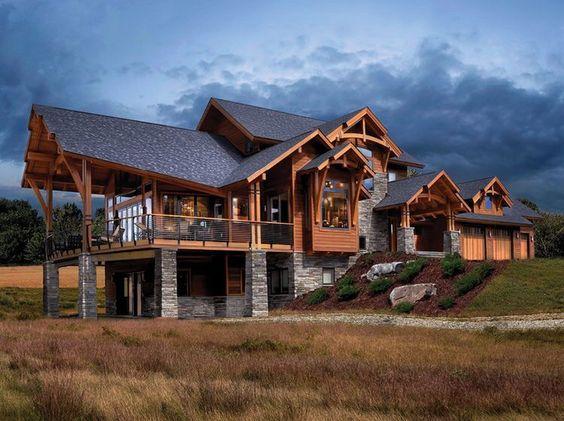 custom built multi level home