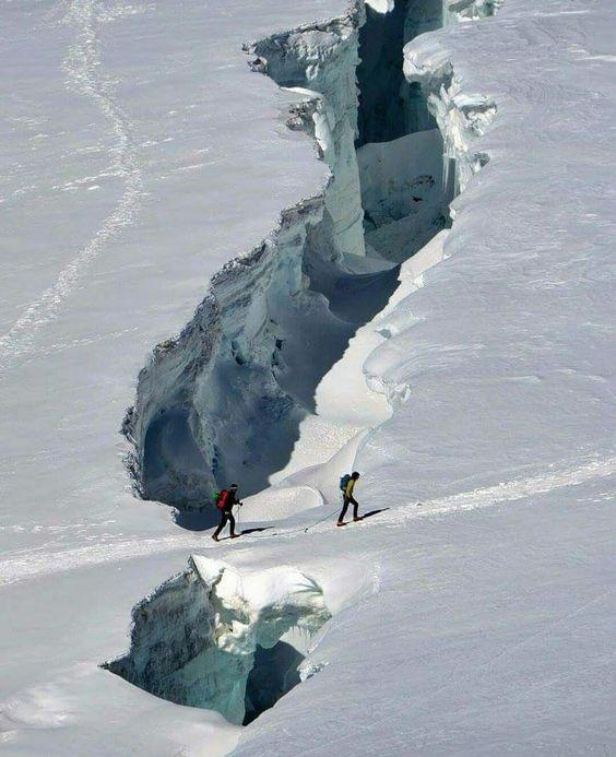 dangerous cross country ski adventure