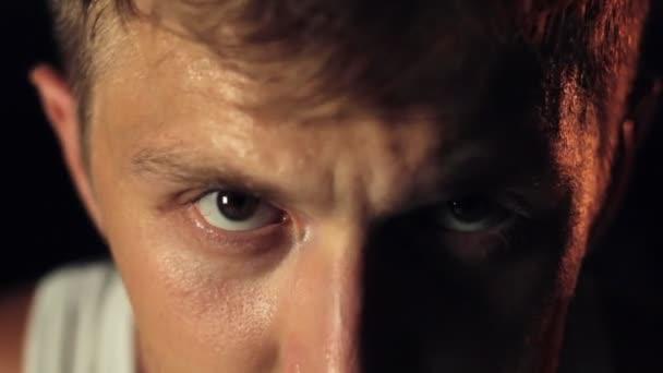 mental toughness man eyes