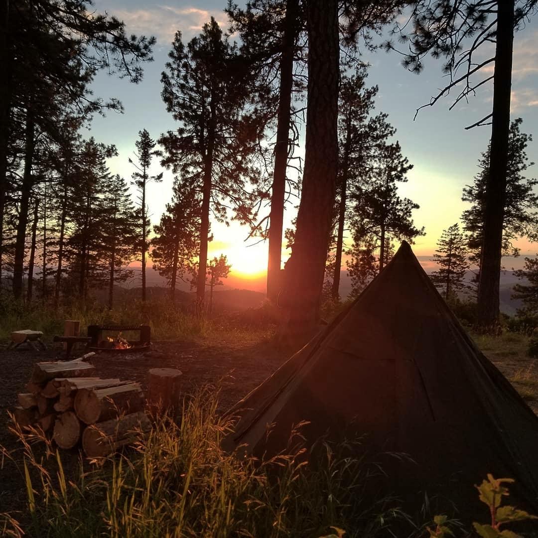 sunrise campsite