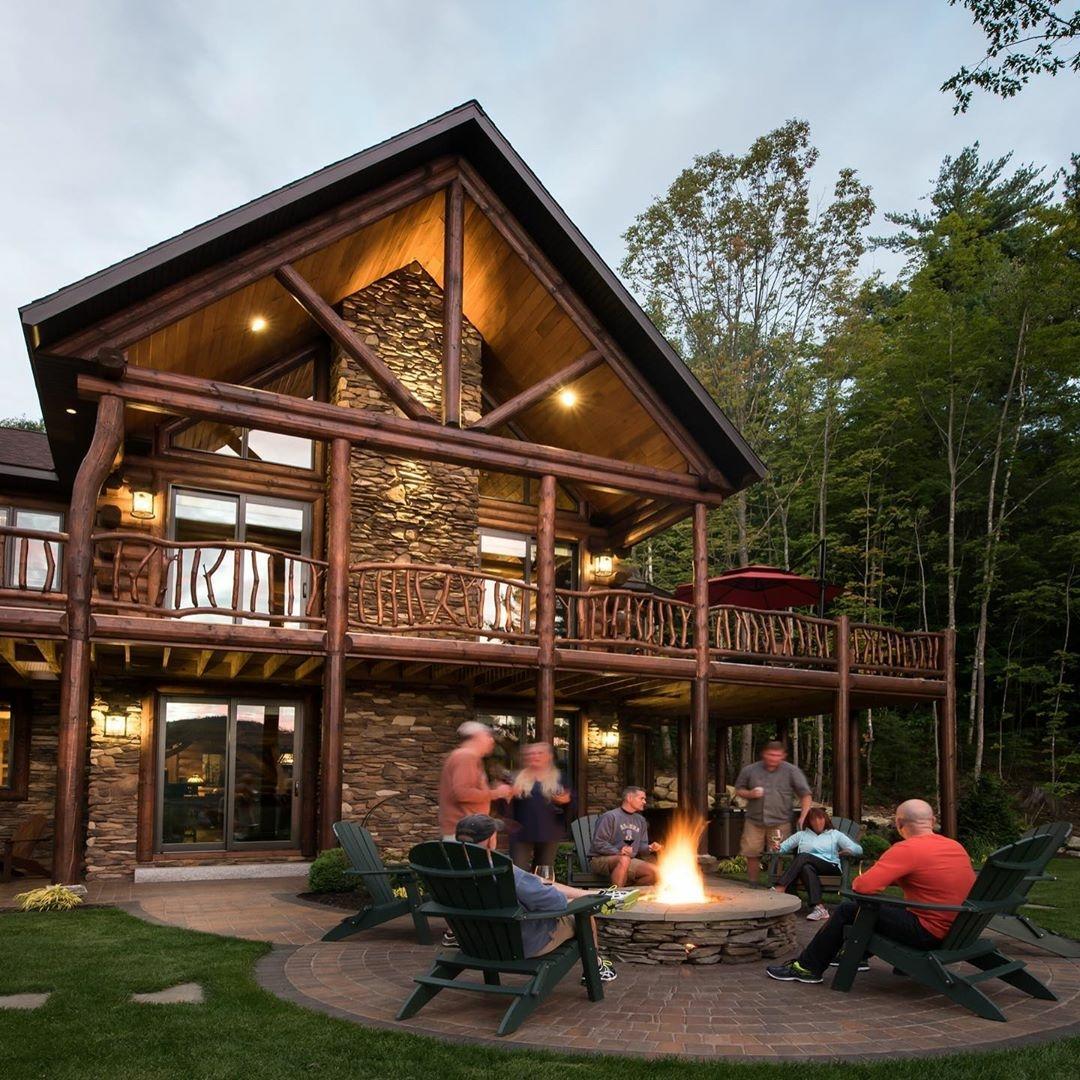 south carolina log home exterior_1