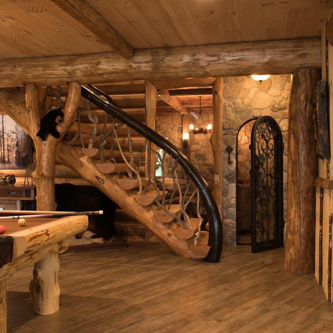 South Carolina Log Home interior_1