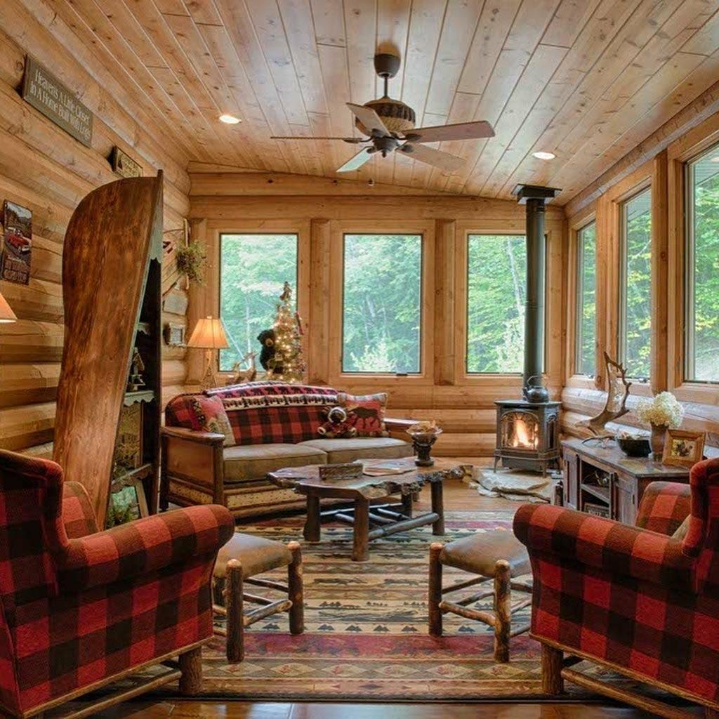 South Carolina Log Home interior_4