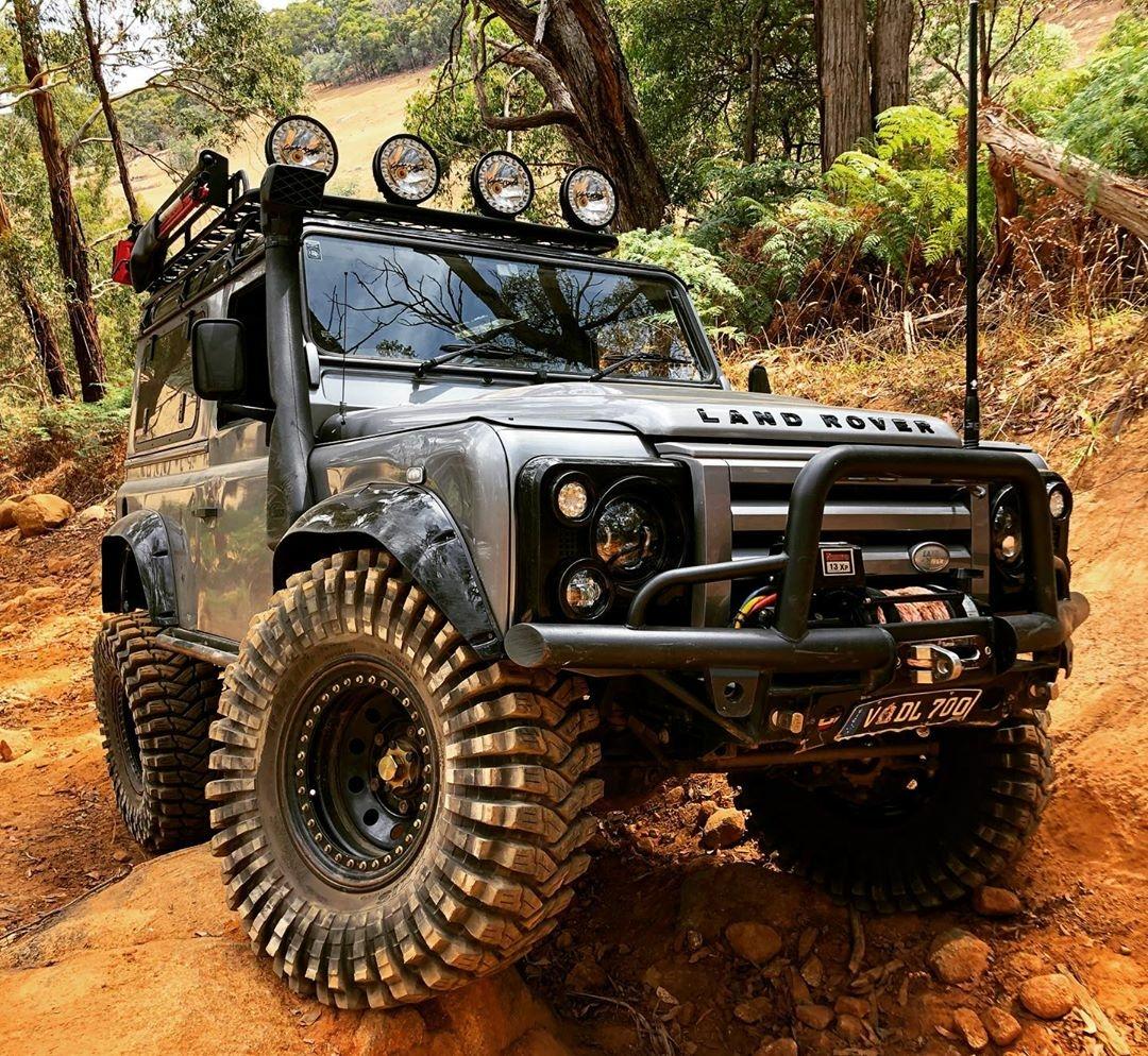 land rover climb