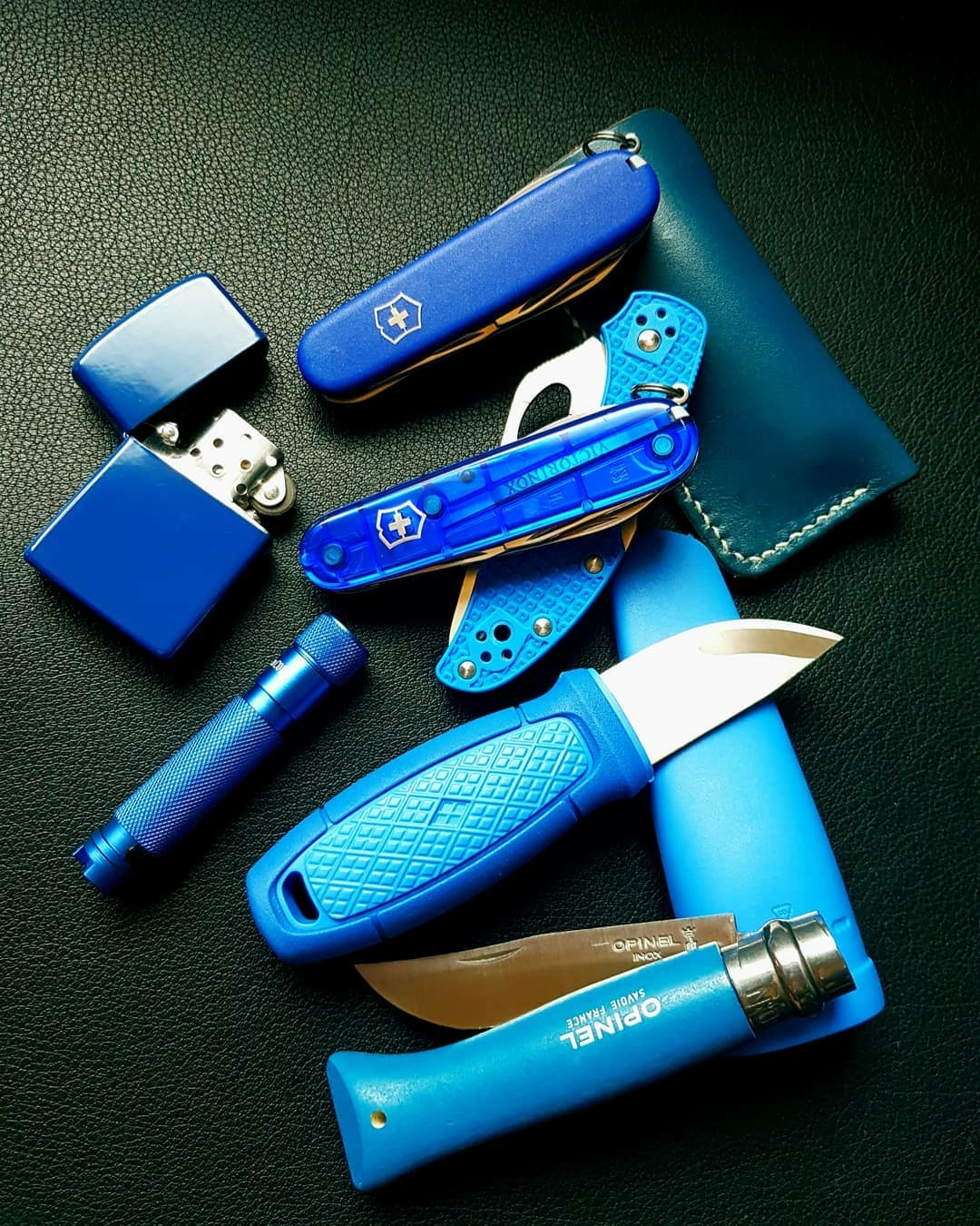 blue edc