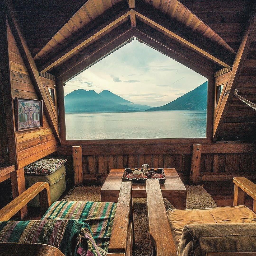 lake cabin interior