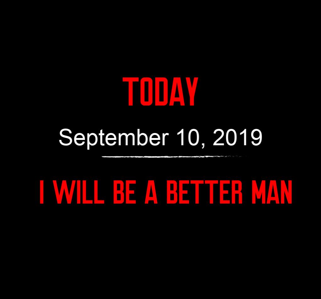 better man 9-10-19