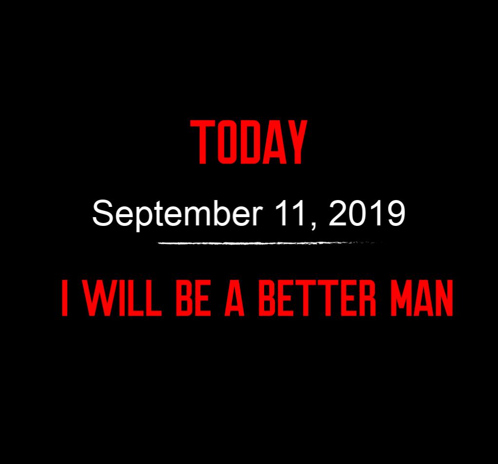 better man 9-11-19
