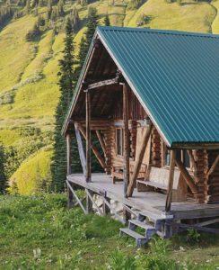 manly life - log cabin