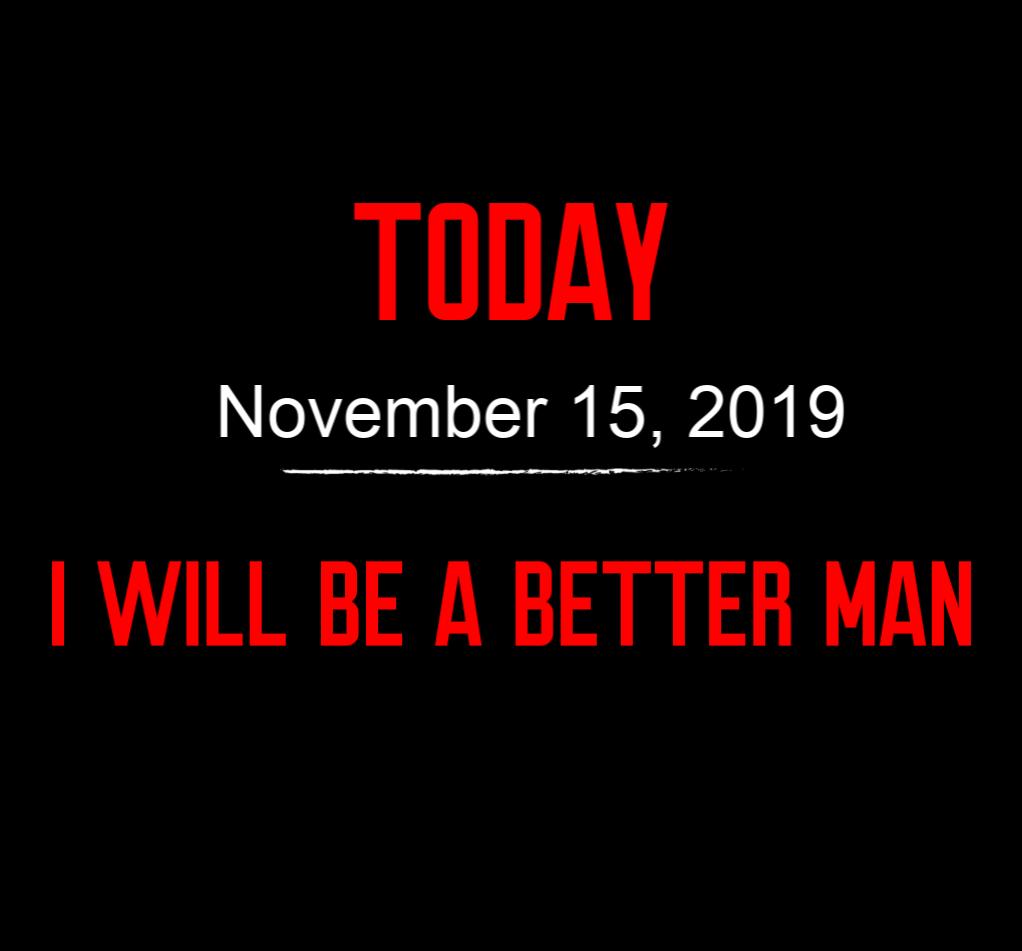better man 11-15-19