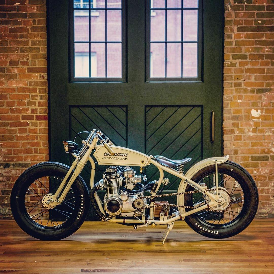 custom 1973 Honda CB350F