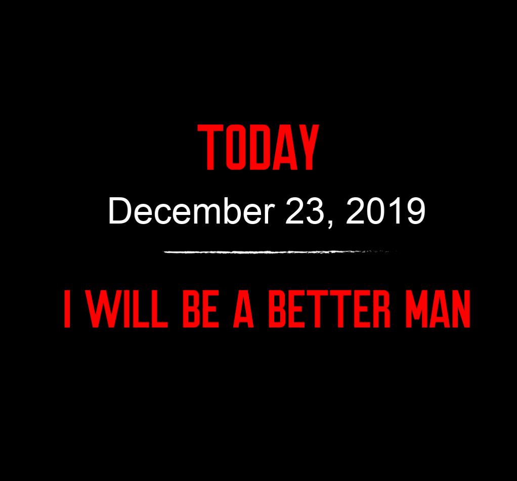 better man 12-23-19