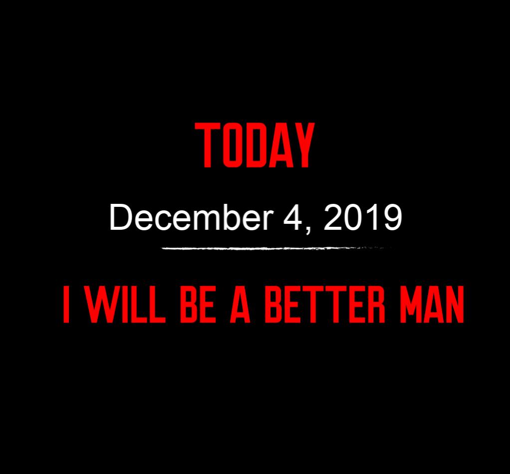 better man 12-4-19
