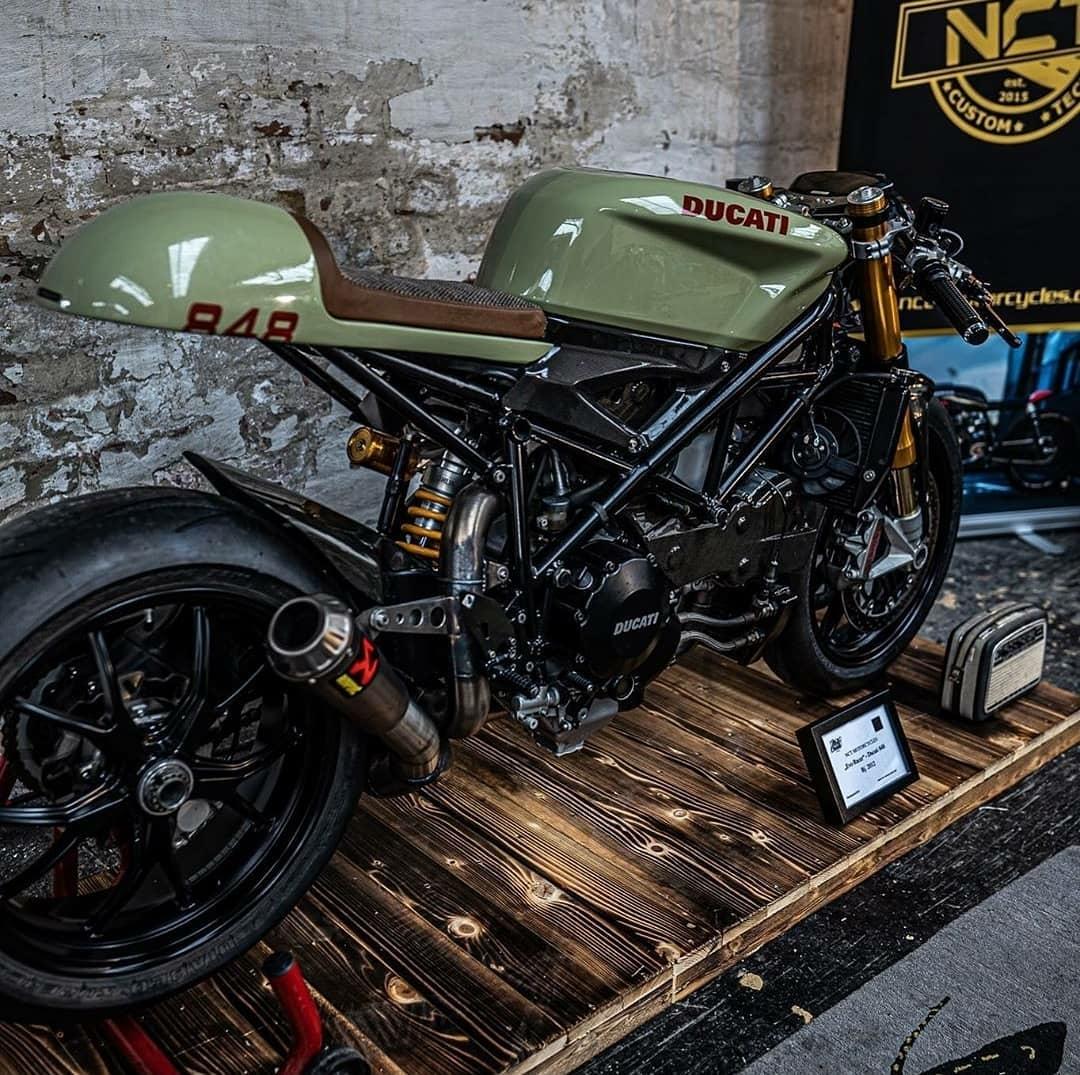 Ducati 848 'Evo Racer'