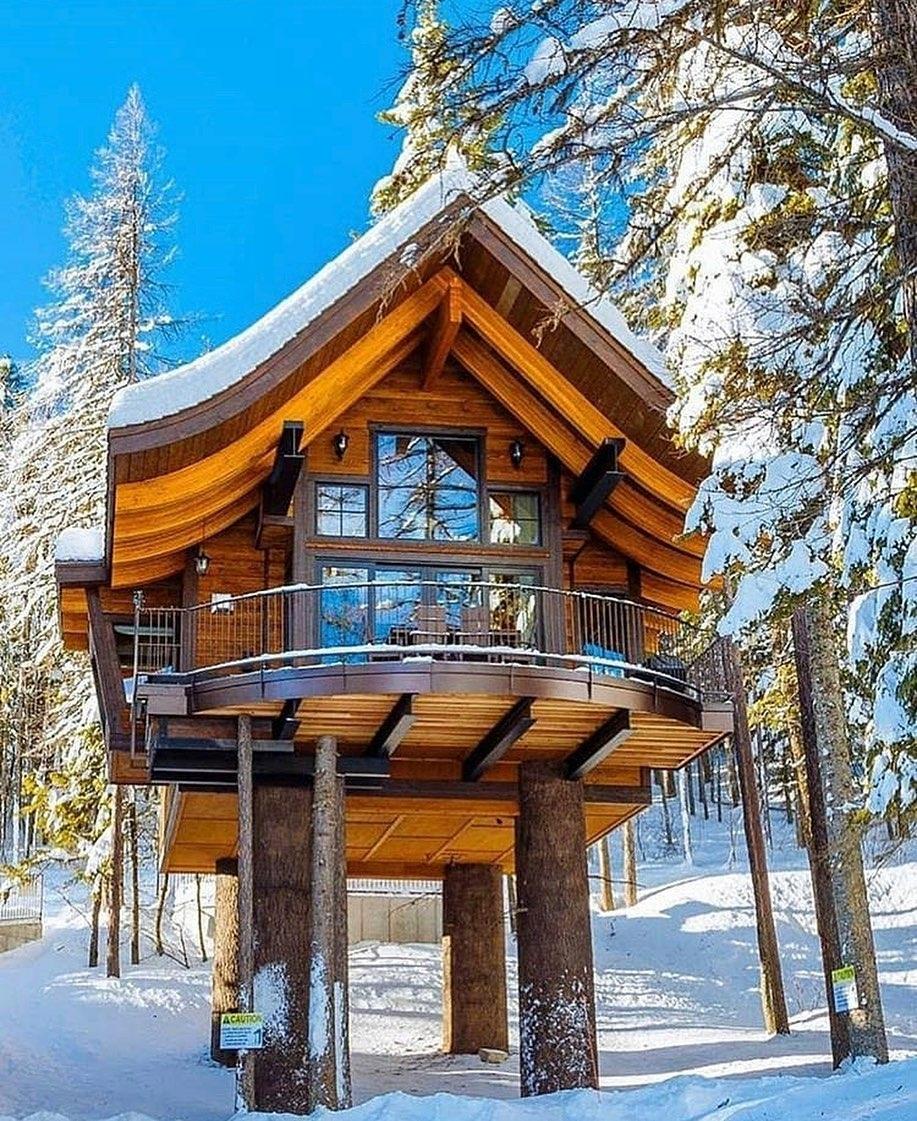 raised cabin