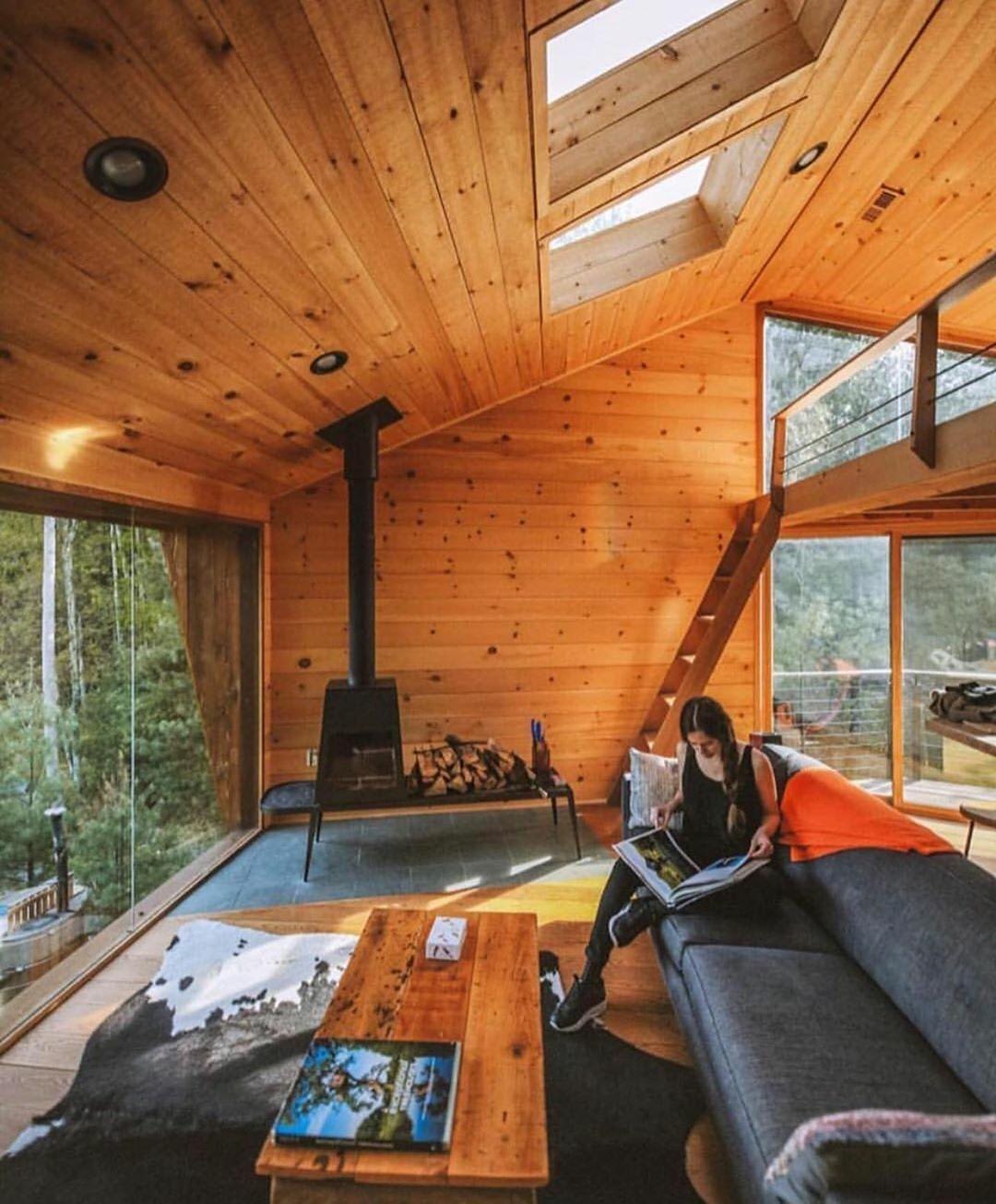 luxury treehouse interior