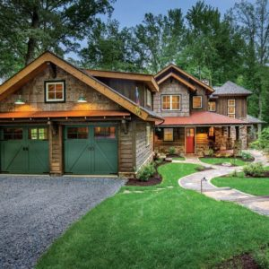 the manly life - rustic home