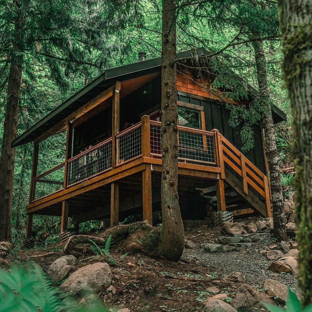 cabin in Rhododendron, Oregon