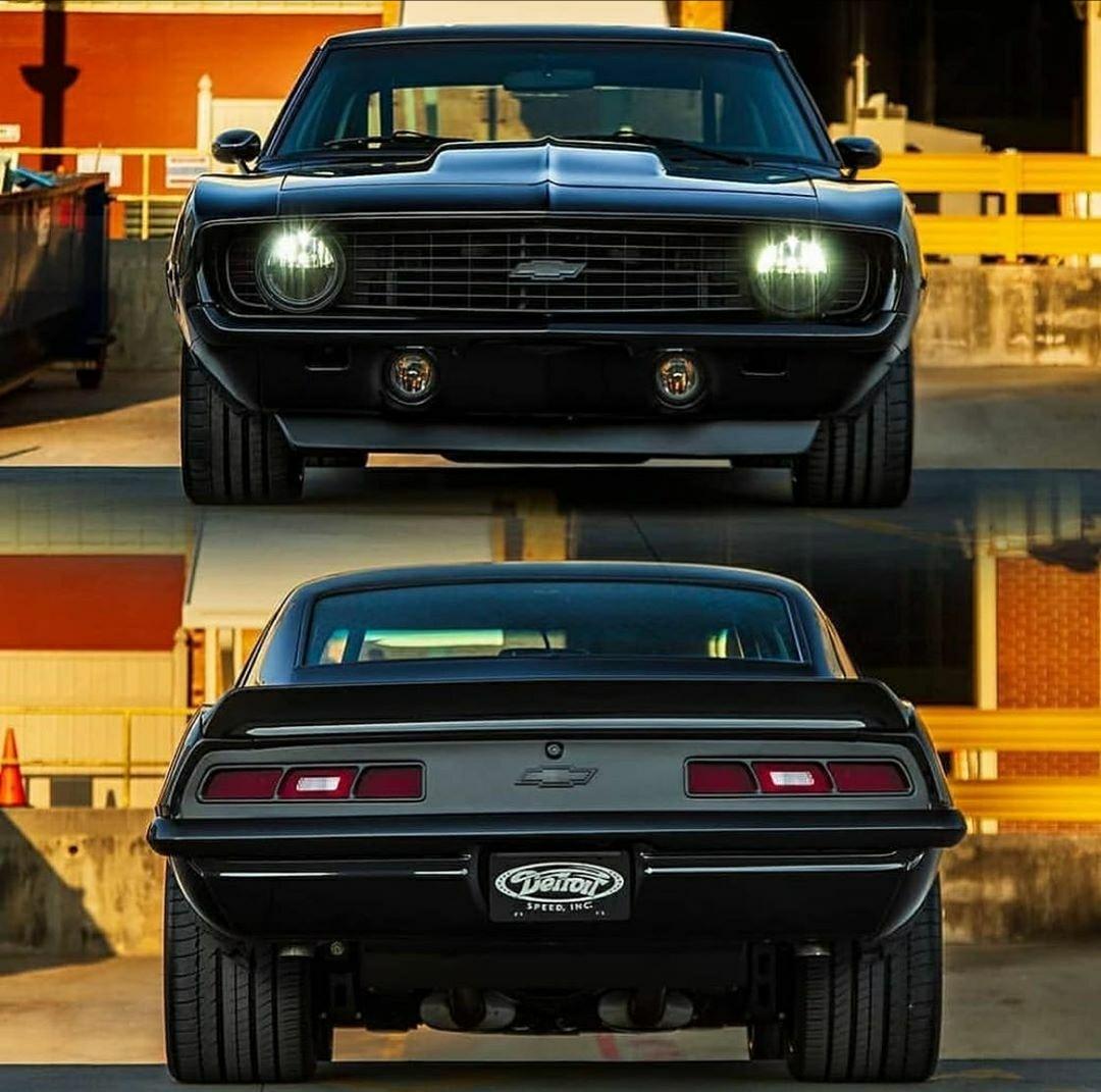 black 69 Camaro