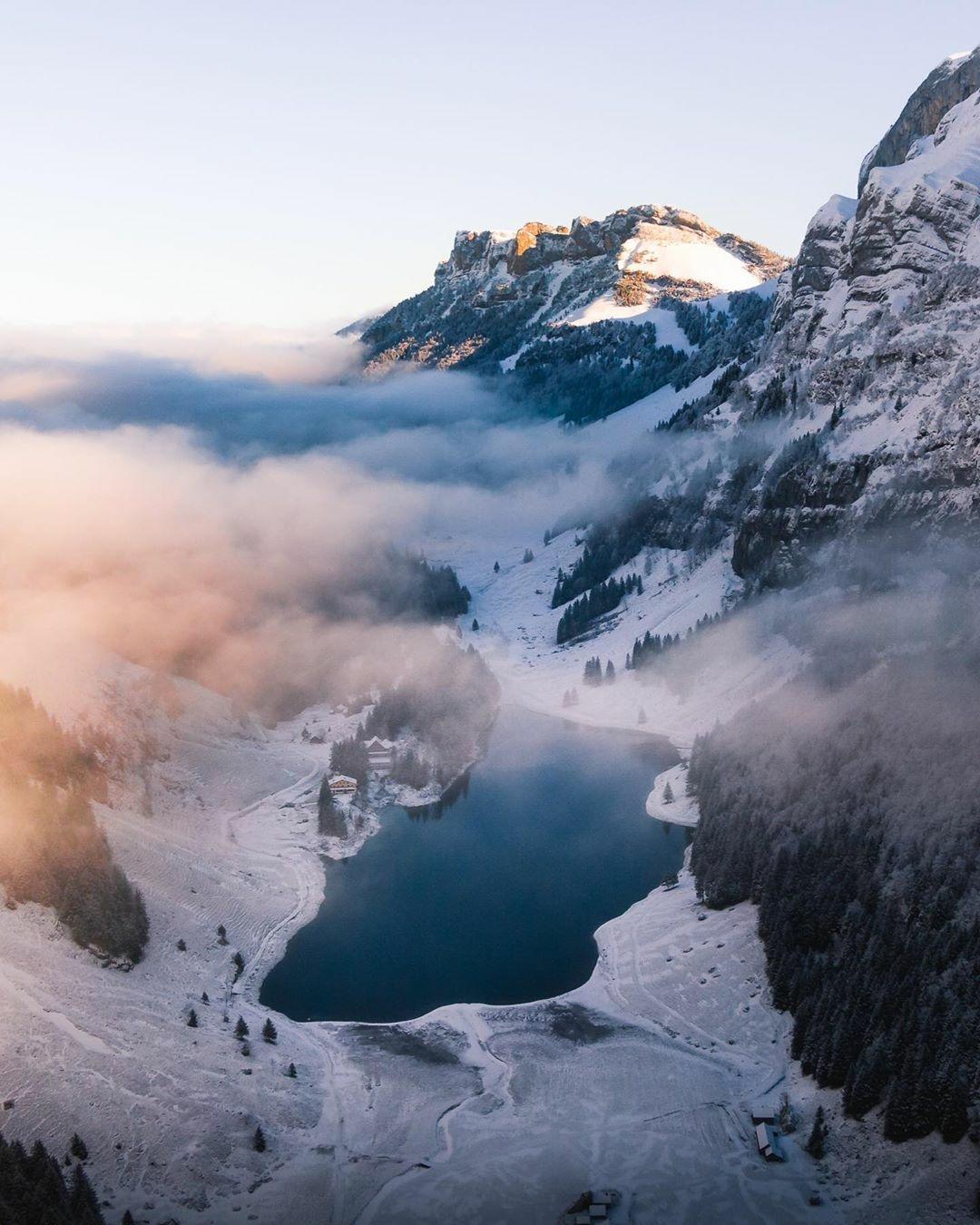 Seealpsee Lake Switzerland