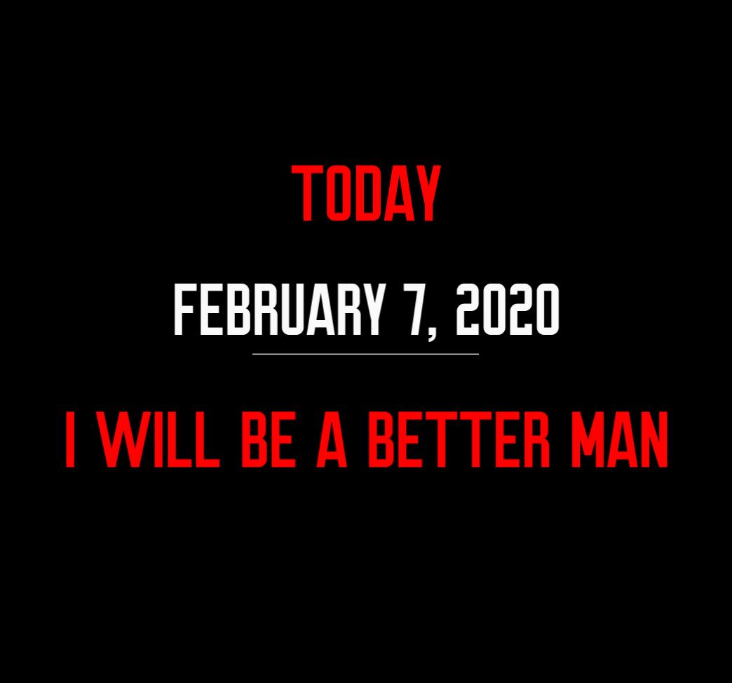 better man 2-7-20