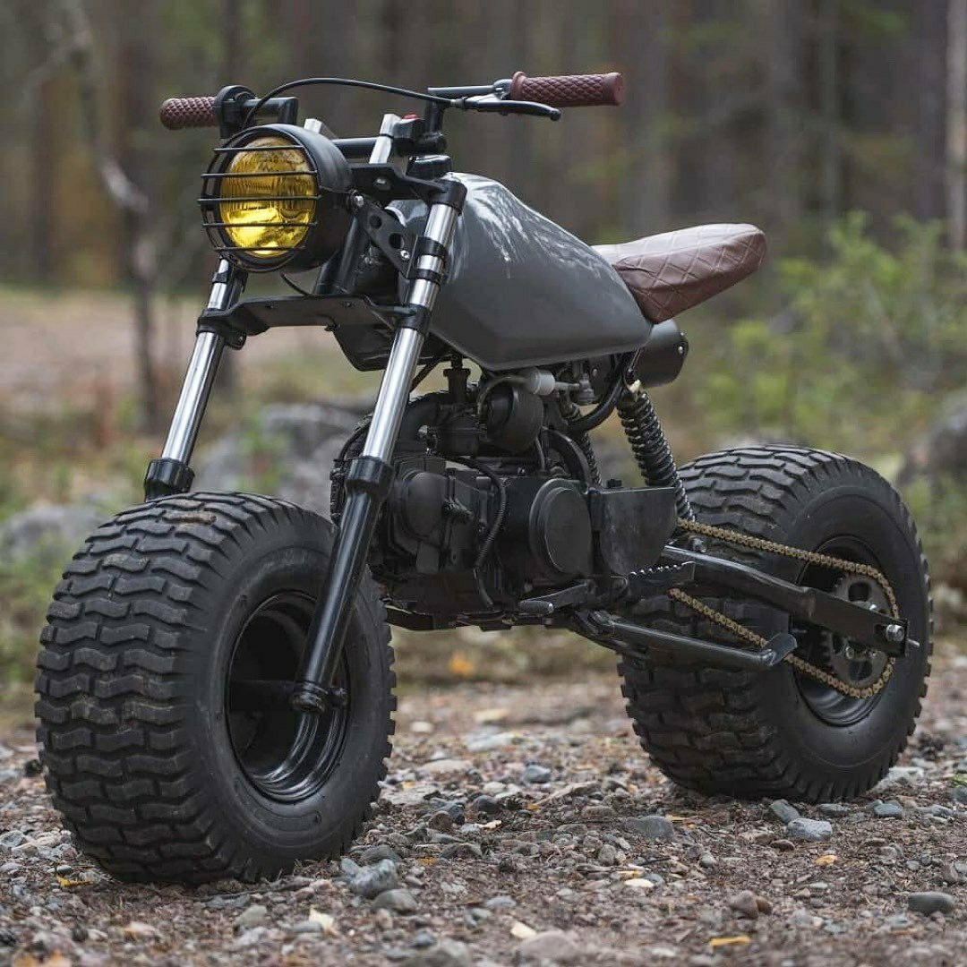 Pitbike-Scrambler