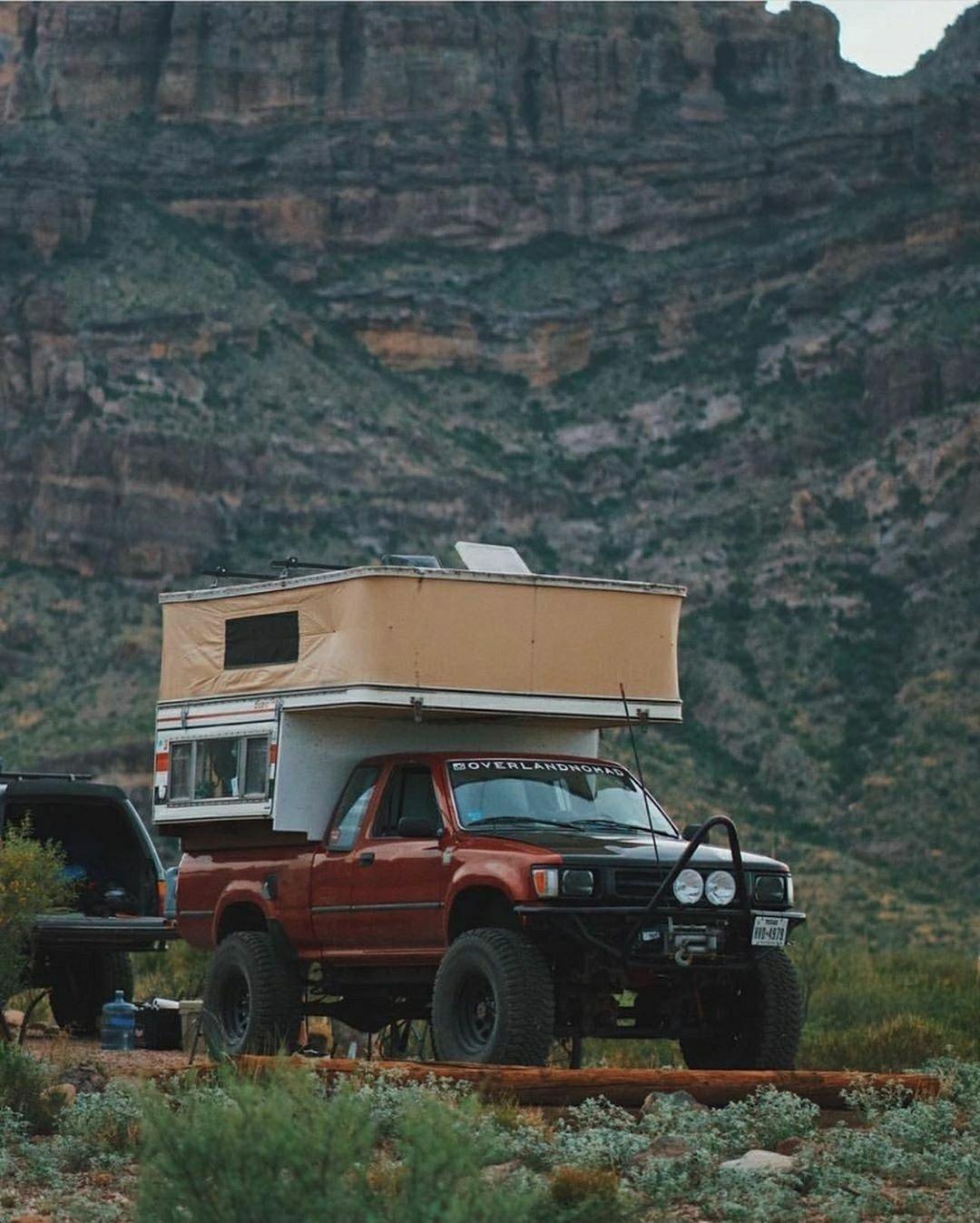 1994 Toyota 4X4 camper