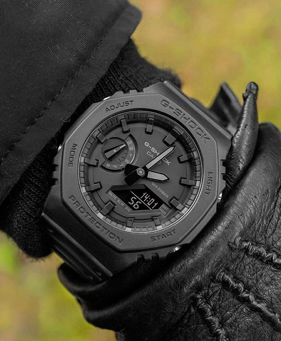 black g-shock