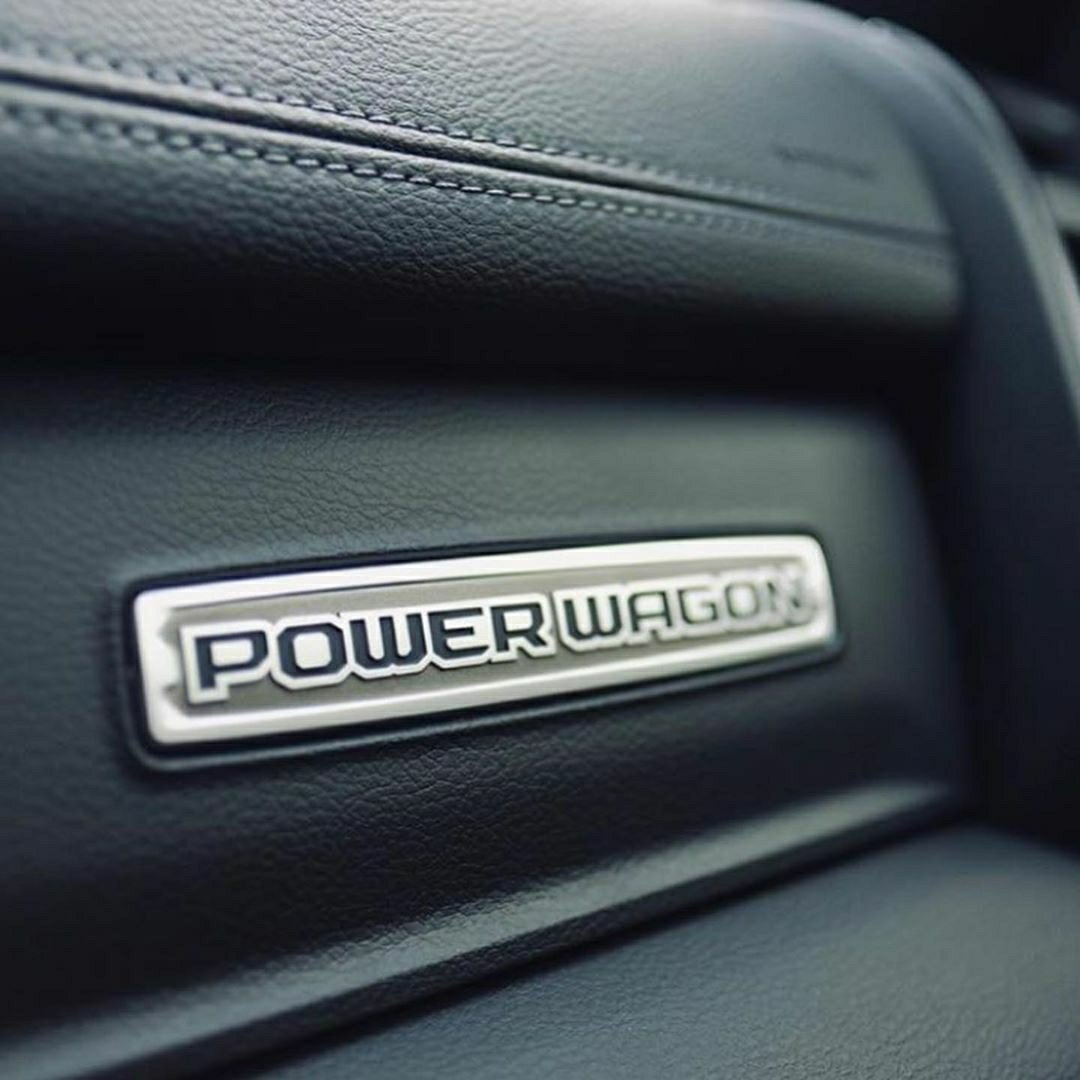 power wagon badge