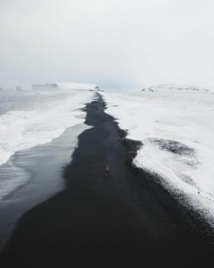 Black Sands Beach, Iceland