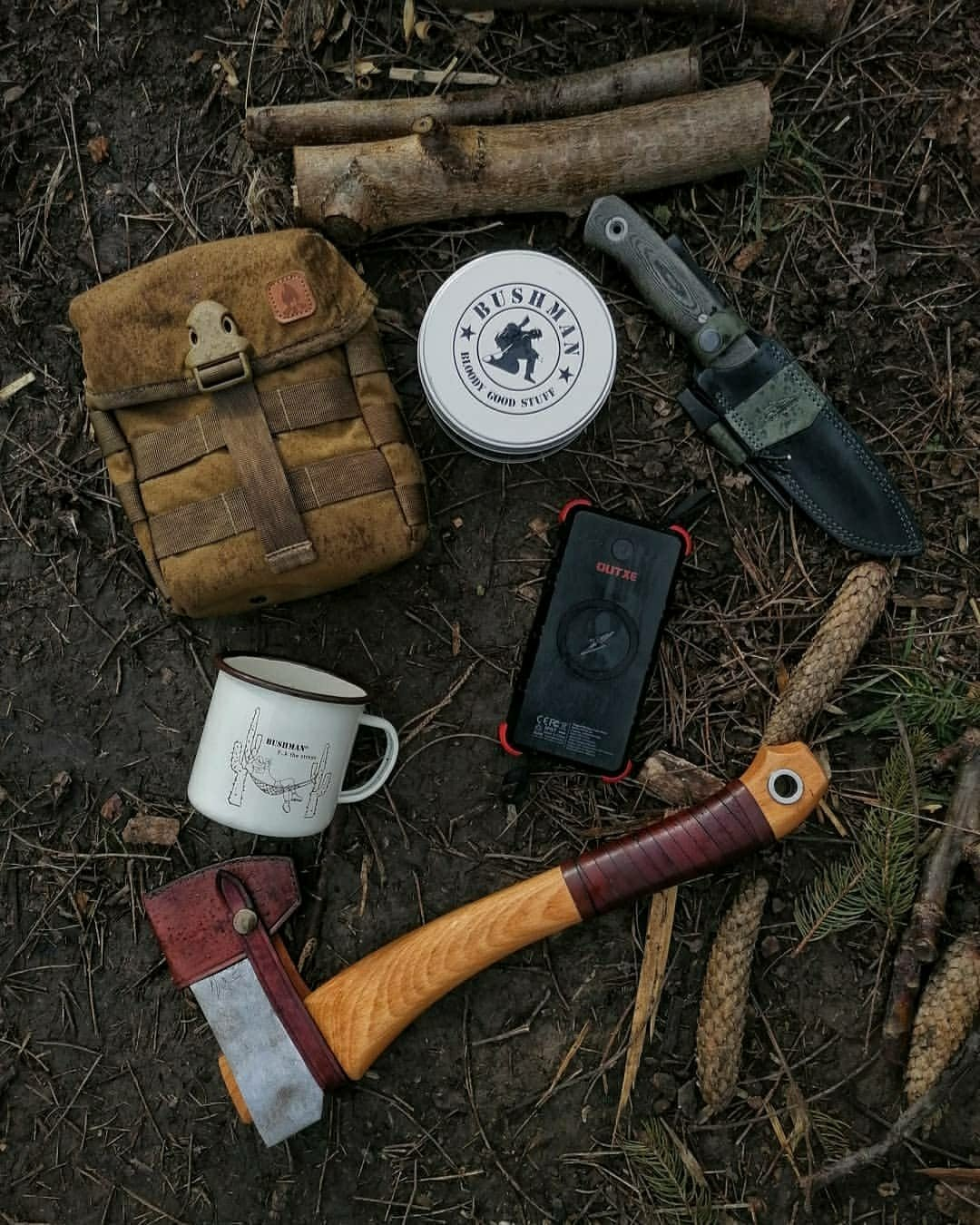manly camping gear